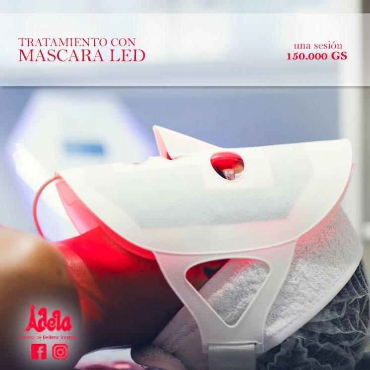 Tratamientos faciales - Máscara LED
