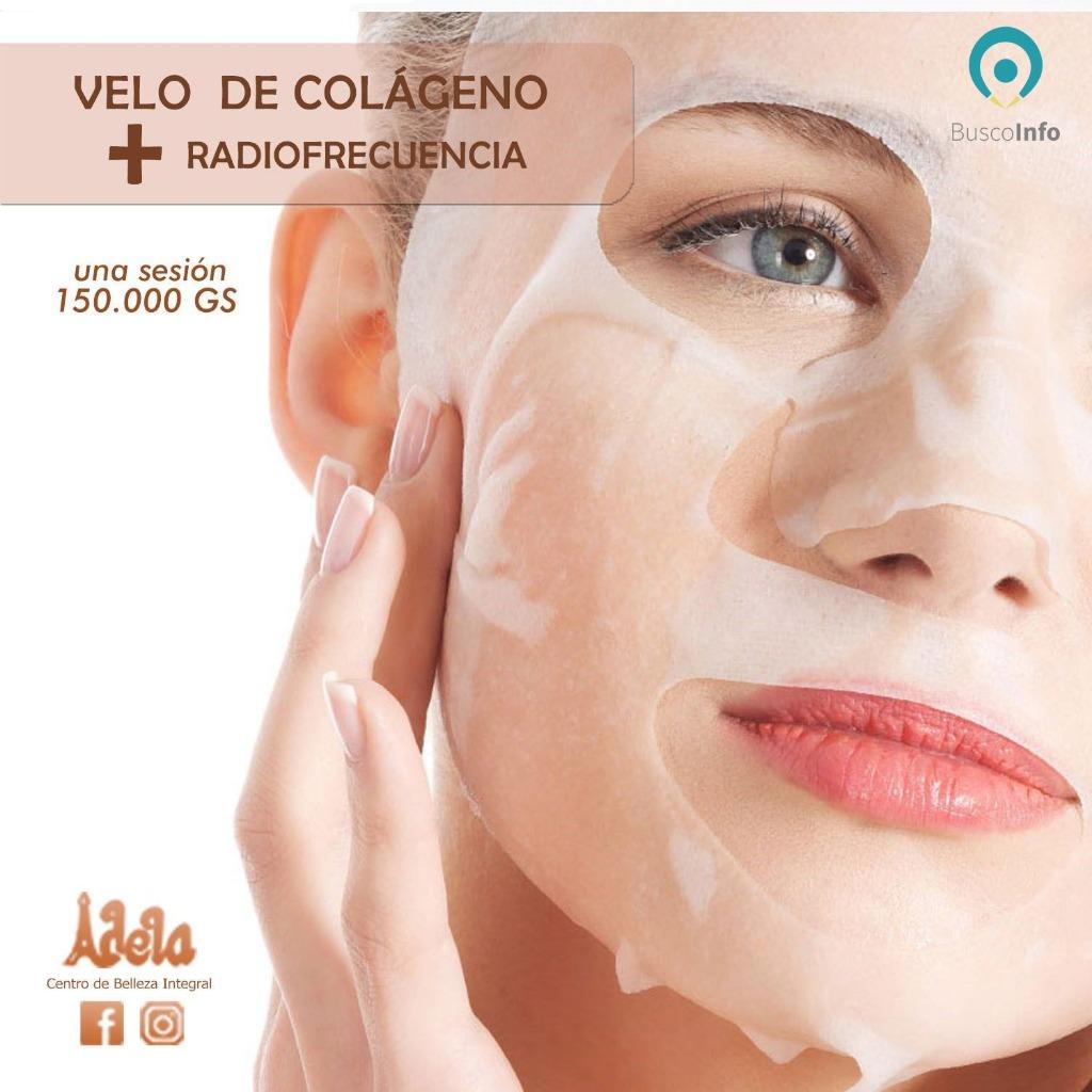 Tratamientos faciales - Velo de colágeno + Radiofrecuencia