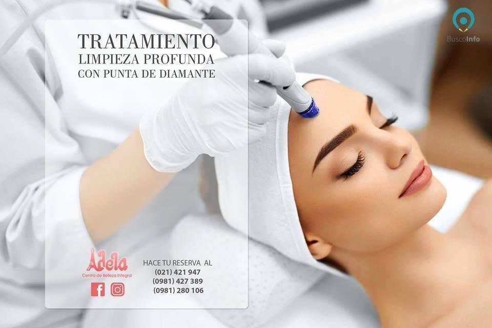 Tratamientos faciales - Limpieza Profunda con PUNTA DE DIAMANTE