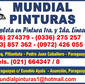 Mundial Pinturas S.R.L. de PINTURA AUTO en JUAN EMILIO OLEARY