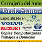 Cerrajería del Automóvil Gral. Santos de CERRAJERIAS en GENERAL CABALLERO