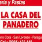 La Casa del Panadero de PANADERIAS en SAN LORENZO
