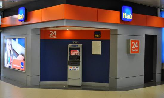 Cajero Banco Itaú - Agencia U.N.A