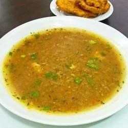Menú del día en God's Pan