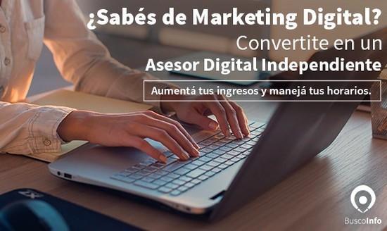 ¿Querés ser un Asesor en Marketing Digital?