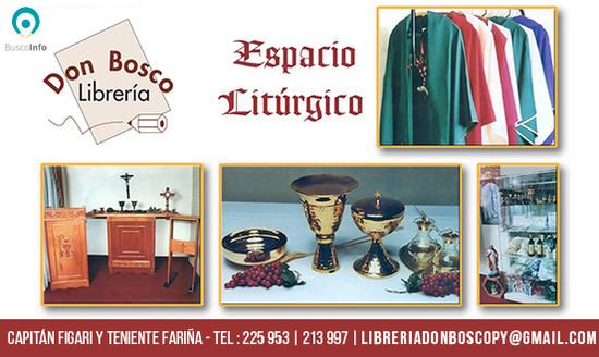 Espacio Litúrgico en Librería Don Bosco