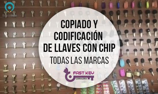 Copiado y codificación de llaves con Chip