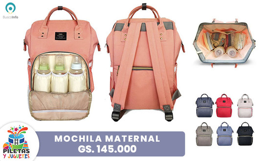 Oferta Mochila Maternal