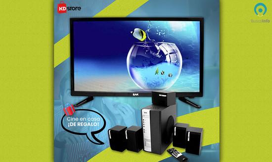 Smart TV + Cine en casa ¡DE REGALO!