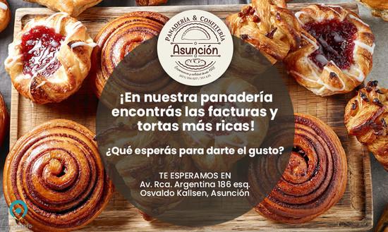 Date el gusto en Panadería Asunción