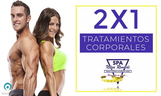2x1 en tratamientos corporales