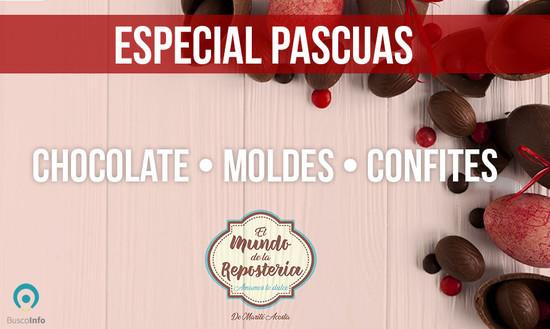 Chocolates, moldes y confites