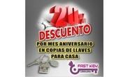 Promo Aniversario de Fast Key Cerrajeria